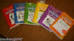 Diary of a wimpy kid collection 6 books set diary of a wimpy kid diary of a wimpy kid collection 6 pack boxed set books paperback new ebay sold solutioingenieria Images