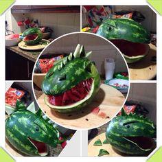Watermelon Dinosaur