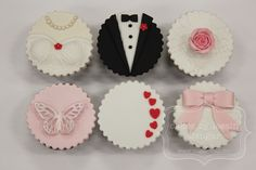 lace heart cupcake toppers - Google Search