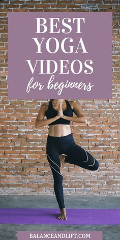 Are you looking to get started with some yoga videos for beginners? Check out this post with some of the best yoga videos to get started with yoga. Training for beginners Training plan Training video Training weightlifting Training women Training workout Weight Loss Meals, Quick Weight Loss Tips, Yoga For Weight Loss, Yoga Girls, Yoga Fitness, Fitness Tips, Enjoy Fitness, Fitness Band, Free Fitness