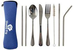 Utensil Set, Cutlery Set, Plastic Silverware, Spoon Knife, Use Of Plastic, Travel Products, Chopsticks, Stainless Steel, Tableware