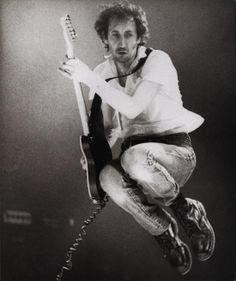 Pete Townshend....in flight