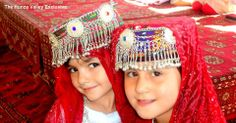 Little kids from Hunza (Gilgit Baltistan), Pakistan.