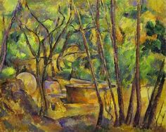 Paul Cezanne Paintings Names | Grindstone%20and%20Cistern%20in%20a%20Grove.jpg