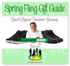 Emeril Lagasse Footwear Giveaway Ends 3/29 ~ Tales From A Southern Mom