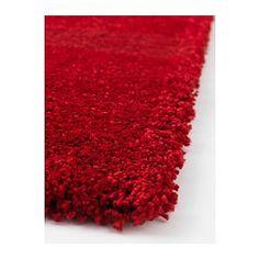 "ÅDUM Rug, high pile, bright red - bright red - 5 ' 7 ""x7 ' 10 "" - IKEA"