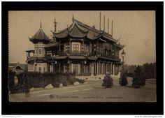 BRUSSEL - LAKEN  /  BRUXELLES   LAEKEN  - Le Pavillon Chinois - Facade Principale - Wereldtentoonstellingen