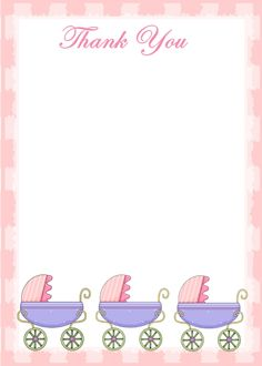 baby shower thank you cards on pinterest messages baby showers and
