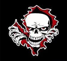 Skull Zombie Walking Dead Skeleton Rip Tear Car Truck Window Vinyl Decal Sticker Custom Decals, Vinyl Decals, Sticker, Zombie Walk, Walking Dead, Skeleton, Truck, Skull, Window