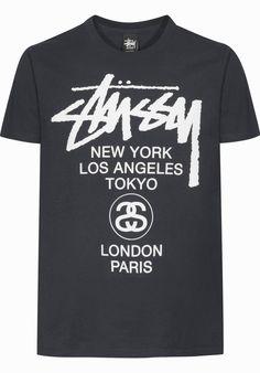 Stuessy World-Tour - titus-shop.com  #TShirt #MenClothing #titus #titusskateshop