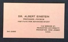 Image result for business cards of famous personalities