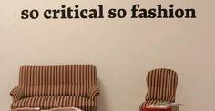 So Critical So Fashion 2012: 5 idee dal mondo della moda sostenibile