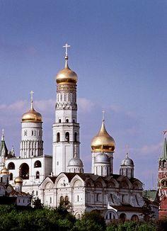 The Kremlin, Moscow by josullivan.59, via Flickr