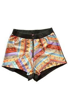 Tribal Print Boyleg Shorts from Pinkaholic Fashion Shoppe