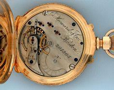 Antique Pocket Watches - Howard Multicolor #5816