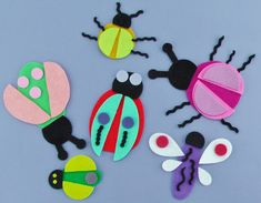 Build a Bug Set | Flannel Board Fun