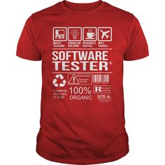 Awesome Tee Shirt Software Tester T-Shirts, Hoodies. BUY IT NOW ==► Funny Tee Shirts