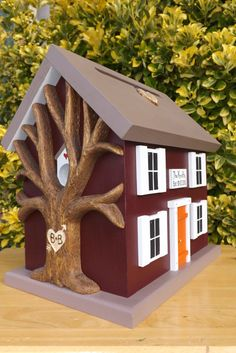 Hey, I found this really awesome Etsy listing at https://www.etsy.com/listing/164466725/small-wedding-card-box-birdhouse-with