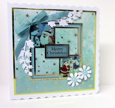 Father Christmas Deluxe papercrafting kit