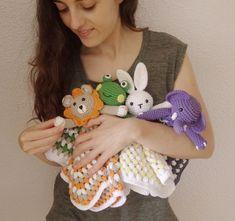 Animal Sewing Patterns, Crochet Patterns, Crochet Toys, Crochet Baby, Chrochet, Dinosaur Stuffed Animal, Crochet Necklace, Projects To Try, Dolls