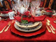 128 Best Red And Gold Christmas Images In 2013 Christmas Decor