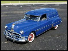 1952 Pontiac Sedan Delivery  268 CI, Automatic  #Mecum #Chicago