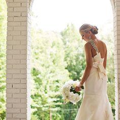 All in white. #AmsaleBride #RealWedding Amanda Suanne Photography #Padgram