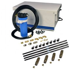 Commercial Pulley Drive Stainless Misting Kit