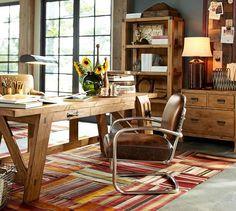 Hendrix Large Smart Technology™ Desk | Pottery Barn - Desk inspiration