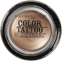 Myb Eyeshadw Es Tattoo Br Size 14 Maybelline Eye Studio Color Tattoo Bad To The Bronze * Click image for more details.