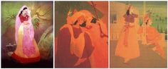 Abdul Rehman Chughtai – A great water colour painter of all times ~ Jaho Jalal