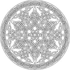 Amazingly Relaxing Free Printable Mandala Coloring Pages for Adults Bring These 15 Magnificent Free Mandala Templates To Life With Vibrant Colors!Bring These 15 Magnificent Free Mandala Templates To Life With Vibrant Colors! Mandala Draw, Mandalas Drawing, Mandala Coloring Pages, Coloring Book Pages, Zentangles, Zentangle Patterns, Mandala Tattoo, Celtic Symbols, Celtic Art