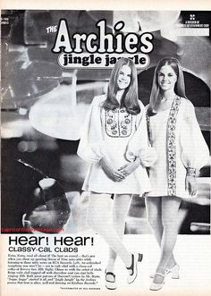 1970 teen magazine rca records promo with 'the archies'.