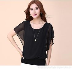 Buy Daybreak Chiffon Blouse at YesStyle.com! Quality products at remarkable prices. FREE Worldwide Shipping available!
