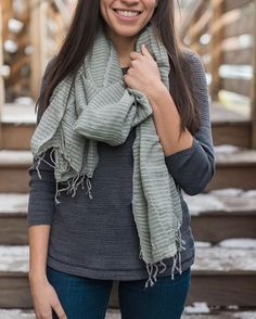 Scarf for you. Life for them.   Support women and children in Ethiopia with your purchase of a hand-woven piece. #mochamerch >> store.themochaclub.org //  : @madelineharperphoto