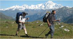GOER: Técnica: Utilización de bastones de trekking