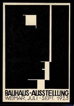 Herbert Bayer, Bauhaus-Ausstellung - Weimar, No.12 (1923)