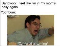 Image result for sangwoo memes