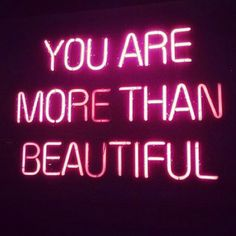 """""""You are more than beautiful Jesus / God"""" † christianity † aesthetic † pink neon light"""