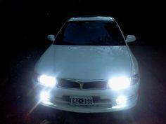 Luces HID Mitsubishi Lancer Evolution, Mitsubishi Sigma, Cars, Vehicles, Rolling Stock, Autos, Vehicle, Car, Automobile