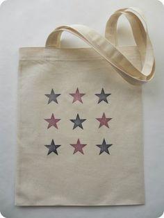 diy mon tote bag girly paillette sacs tote bags et sacs tote bags. Black Bedroom Furniture Sets. Home Design Ideas