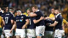 Australia 19-24 Scotland: Second tour win for Gregor Townsend's side - But Scotland responded with a wonderful try finished off by Hamish Watson to make it two wins from two for new head coach Gregor Townsend.