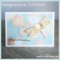 Dragonfly Dreams Stampin' Up! Stampin Up Karten, Bee Cards, Stampin Up Catalog, Beautiful Handmade Cards, Stamping Up Cards, Butterfly Cards, Tampons, Card Maker, Creative Cards
