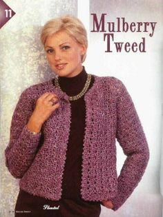 Fabulous Crochet a Little Black Crochet Dress Ideas. Georgeous Crochet a Little Black Crochet Dress Ideas. Crochet Jacket Pattern, Gilet Crochet, Crochet Coat, Crochet Clothes, Crochet Cocoon, Shrug Pattern, Knitting Patterns Free, Free Knitting, Crochet Patterns