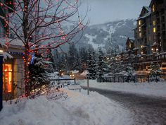 I desperately want a place where it snows to spend holidays with family & friends