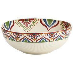 Global Medallion Serve Bowl