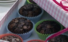 Chocolate Chocolate Chip Cupcakes in Recipes on The Food Channel®