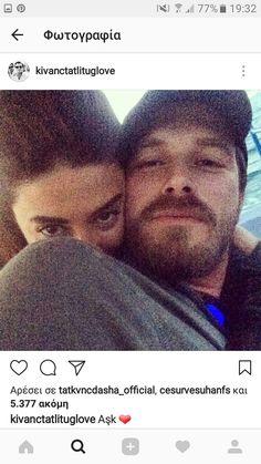 Kivanc Tatlitug & wife Basak Dizer