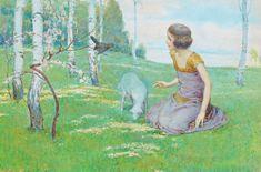 """Gustav Jahn - Fälschung - Es ist auch dann eine Fälschung, wenn bekannte und   """"möchtegern"""" """"Experten"""", trotz besserem Wissen, das Gegenteil weiterhin behaupten. Spring, Painting, Art, Knowledge, Painting Art, Paintings, Kunst, Paint, Draw"""