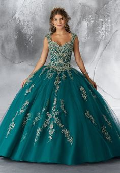 13d5faa2588 Mori Lee Vizcaya Quinceanera Dress Style 89196  QuinceaneraMall   QuinceaneraDress  morilee Teal Quinceanera Dresses